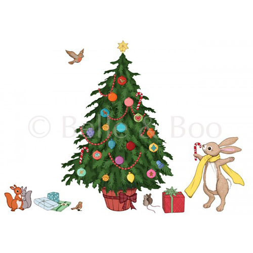 [벨앤부 벽스티커] CHRISTMAS TREE DECO STICKER